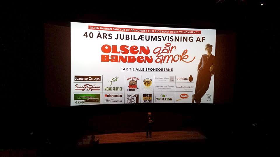 Olsen banden går amok i palads 2013