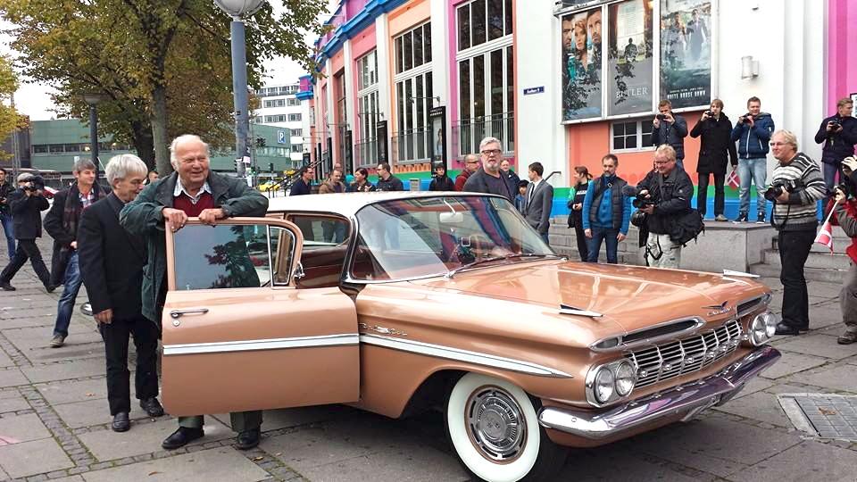 Ankomst Olsen banden 40 års jubilæum