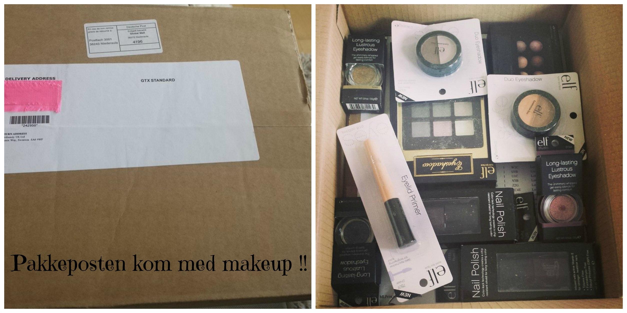 Pakke og produkter fra ELF