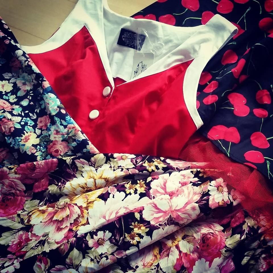 Bjørk pinup kjoler